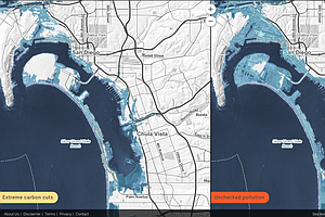 News In Numbers: Mapping Tools Let You Visualize Future Flooding In San Diego