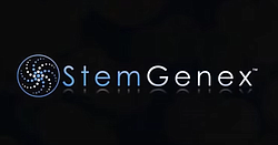 A Stemgenex logo appears in a video posted to the company's Youtube page on O...