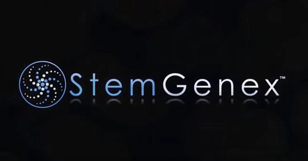 A Stemgenex logo appears in a video posted to the company...