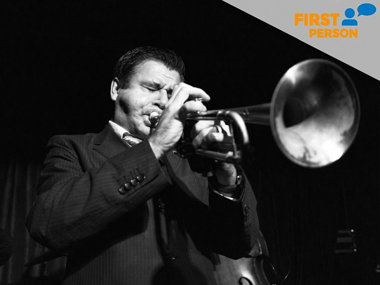 San Diego trumpet virtuoso Gilbert Castellanos is pictured in this undated ph...