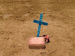 Hundreds of unidentified migrants are buried in this Imperial County cemetery...