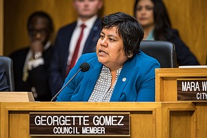 Photo for District 9 City Councilwoman Georgette Gomez Elected City Council President