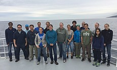 The R/V Sally Ride on its first research missio...
