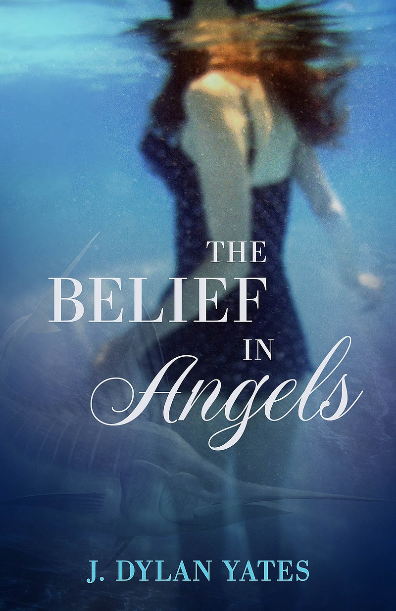 "The book cover for ""The Belief In Angels,"" whic..."