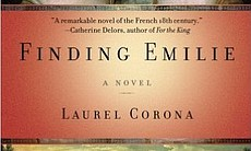 "The book cover for ""Finding Emilie,"" which won ..."