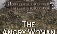 "The book cover for ""The Angry Woman Suite,"" whi..."