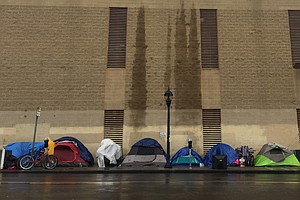 San Diego Opens Emergency Homeless Shelters Overnight Fri...