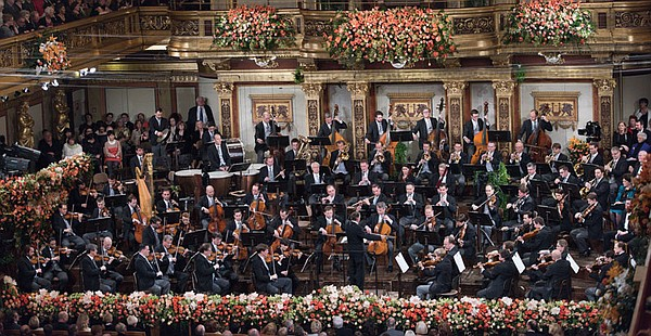 "Vienna Philharmonic in GREAT PERFORMANCES ""From Vienna - The New Year's Celeb..."