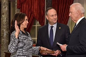 Kamala Harris Sworn In To U.S. Senate