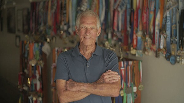 Richard Williams, 80, is a competitive runner in San Diego.