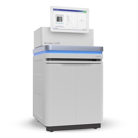 Illumina's NovaSeq 6000 machine is seen in this undated image.