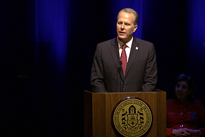 San Diego Mayor Announces Tax Proposal In State Of The Ci...