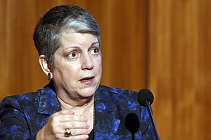 Janet Napolitano In Hospital With Side Effect Of Cancer C...