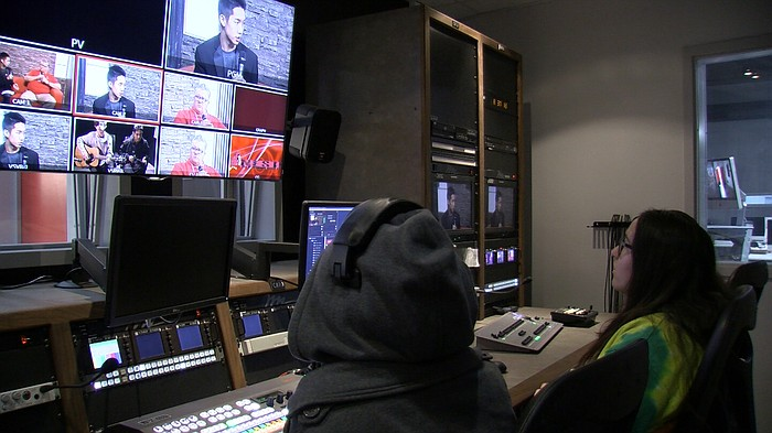 Behind The Scenes Of Hoover High's Student-Run TV News ...