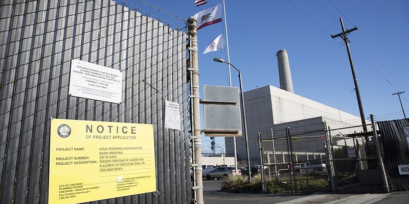 The new Carlsbad power plant will replace the Encina Power Station with a sma...