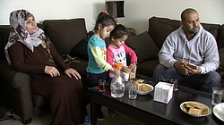 While their four brothers and sisters are at school, the youngest Falah sibli...