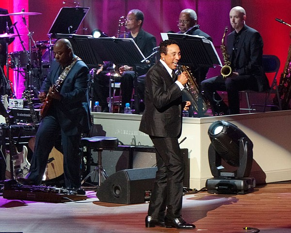 Honoree Smokey Robinson performs at the Library of Congre...