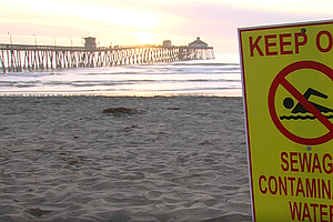 Photo for Water Contact Closure Extended To IB, Silver Strand, Coronado Shore
