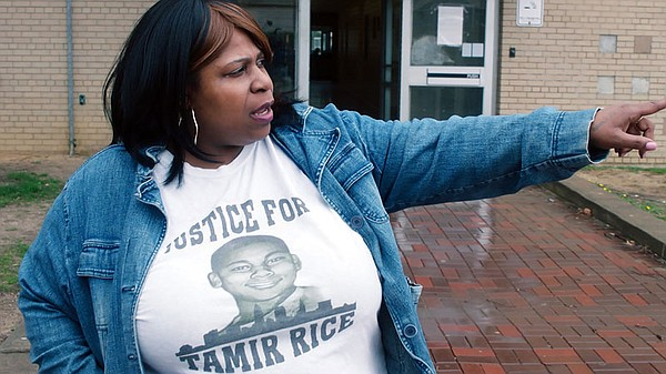 Samaria Rice, mother of Tamir Rice, who was a 12-year-old...