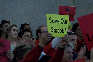 Photo for San Diego Unified To Rescind Layoff Notices For Half Of Teachers With Pink Slips