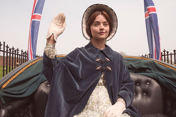 Jenna Coleman as Victoria.