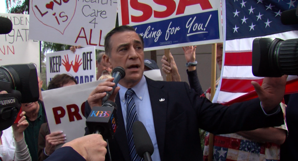 Source: Darrell Issa To Run For Duncan Hunter's Seat