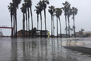 Researchers Study Flooding In Imperial Beach Due To Risin...