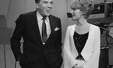 Ed Sullivan chats with Petula Clark, who performs her Grammy-winning evergree...