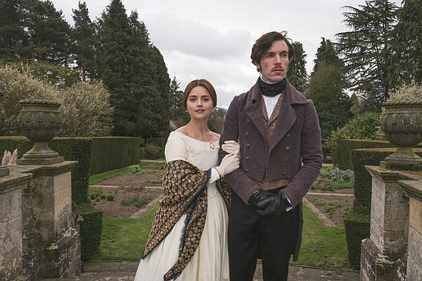 Jenna Coleman as Queen Victoria and Tom Hughes as Prince ...