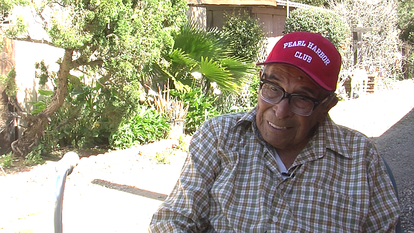 Ray Chavez, America's oldest Pearl Harbor survivor, talks...