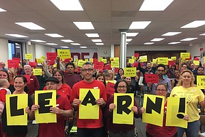 As San Diego Unified Prepares To Cut 977 Positions, Teach...