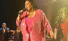 "This historic reunion of the superstars of the 1970s disco and dance era features Martha Wash of the Weather Girls, who belts out ""It's Raining Men Hallelujah!"""