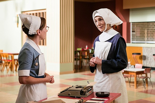 Laura Main as Shelagh Turner, Harriet Walker as Sister Ursula.