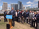 San Diego Mayor Kevin Faulconer announces a proposed ballot measure to raise ...