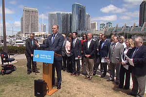 Mayor Faulconer Weighs Options For Future San Diego Conve...