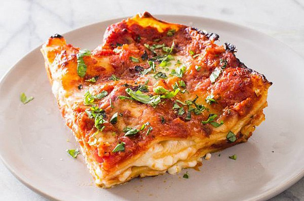 Cheese and Tomato Lasagna