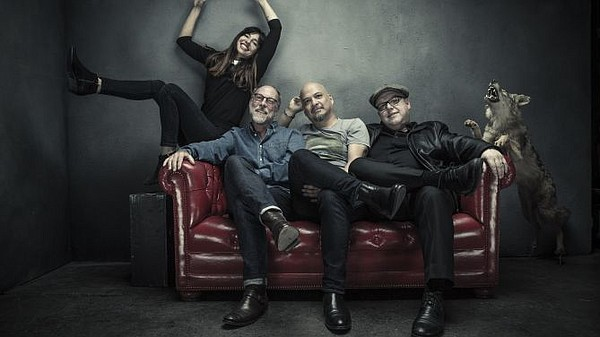 A 2017 photo of the rock band the Pixies.