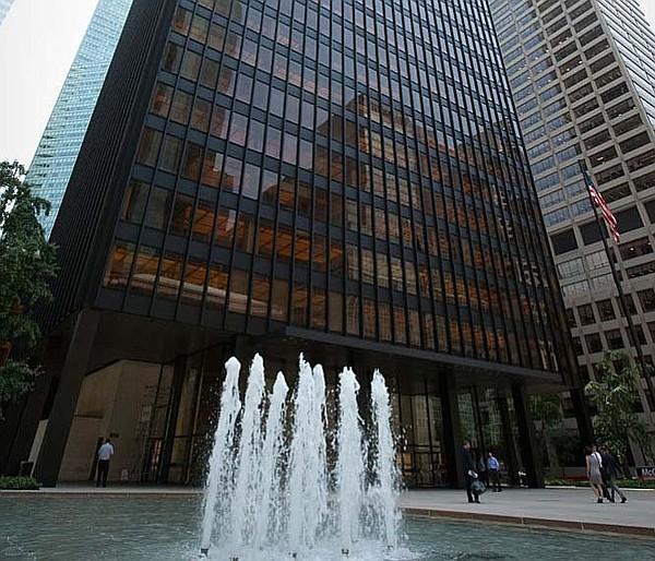 Seagram Building: Mies van der Rohe's tower on Park Avenu...