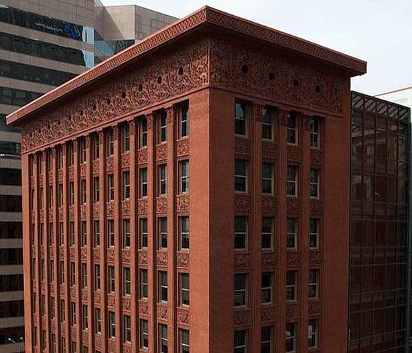 Louis Sullivan's Wainwright Building in St. Louis, Mo. wa...
