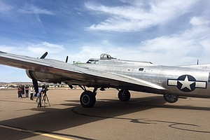 '2017 Salute to Veterans' Tour Offers San Diego Public Rides on WWII B-17 Bomber