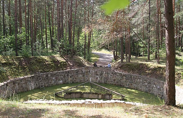 The infamous Burning Pit, the location used by the Nazi's...