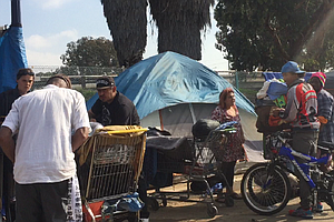 Photo for Annual Homeless Count Shows 6 Percent Drop