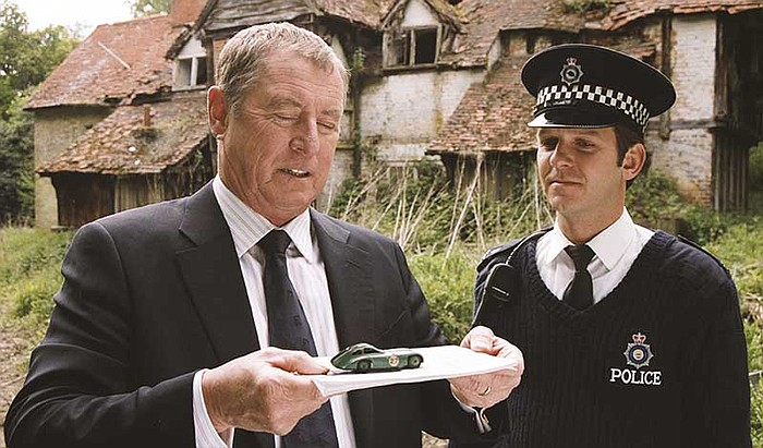 DCI Barnaby And PC Ben Jones In A Scene From MIDSOMER MURDERS