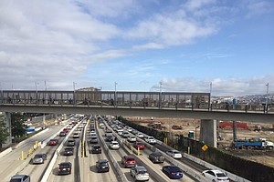 Two Additional Lanes To Open On Southbound I-5 At U.S.-Me...
