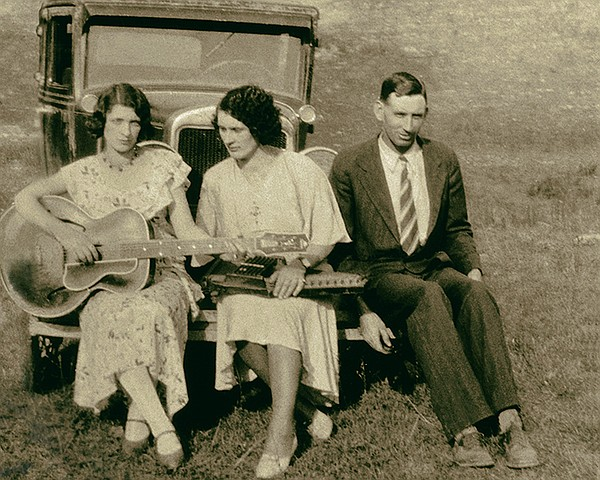 The Carter Family appearing in episode 1 of AMERICAN EPIC...