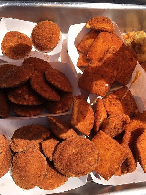 2017 San Diego County Fairgoers will find fried ravioli in two flavors: chees...