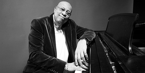 An udated photo of jazz pianist Chucho Valdés.