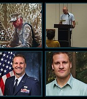 """Contributors featured in episode 1, """"Our Reasons."""" Top: Adam Stone; Bottom: Jesse Goolsby"""