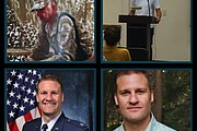 "Contributors featured in episode 1, ""Our Reasons."" Top: Adam Stone; Bottom: J..."