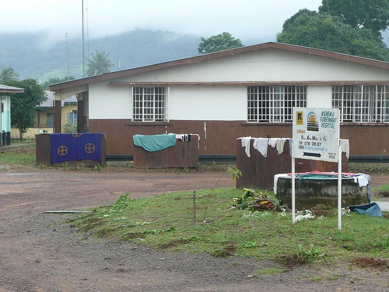 The Sierra Leone clinic that provided researchers with antibodies from Lassa ...